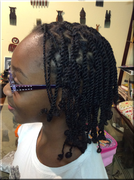 Davette S Kids Loc Twists Davette S Natural Comb Free Hairstyles